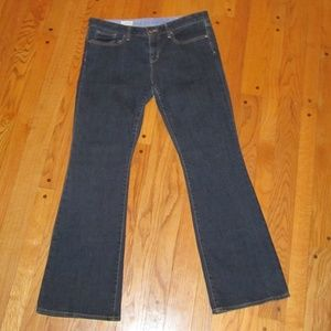 GAP 1969 CURVY BOOT CUT JEANS 14 R WOMENS LN!!